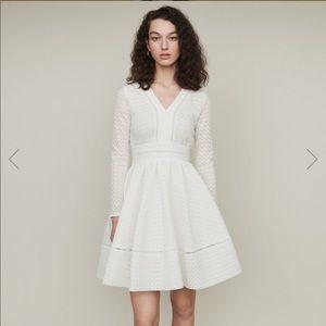 Maje Dresses - Maje Rossignol Lace Skater Dress NWT!